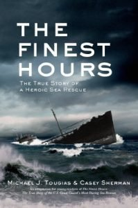 The Finest Hours (Young Reader's Edition) by Michael J. Tougias and Paul Casey Sherman book cover