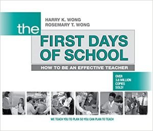 The First Days of School by Harry K. Wong book cover