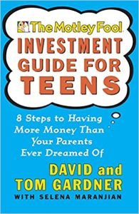 The Motley Fool Investment Guide for Teens by David and Tom Gardner book cover