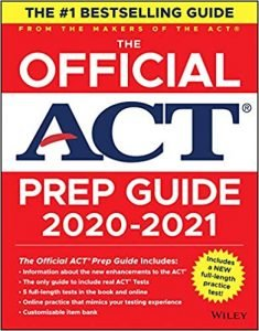 The Official ACT Prep Guide by ACT book cover
