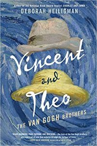Vincent and Theo- The Van Gogh Brothers by Deborah Heiligman book cover
